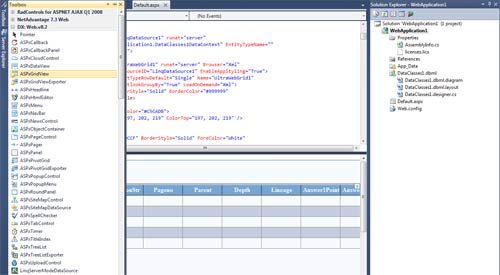 Visual Studio 2010 IDE